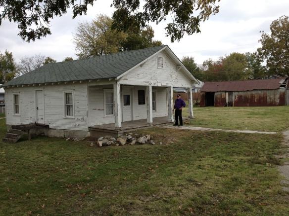 Mickey Mantle boyhood home, Commerce, Oklahoma