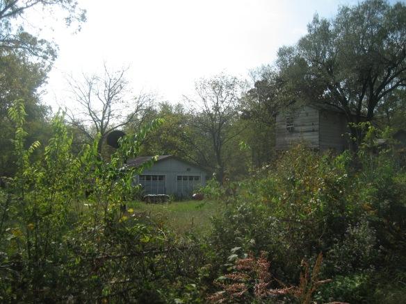 Field in Spavinaw, Oklahoma where Mickey Mantle's first boyhood home once stood