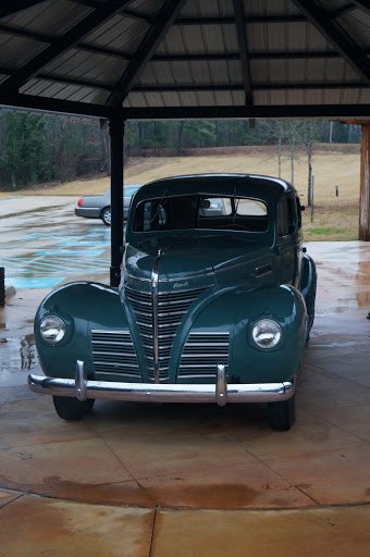 1939 Plymouth, replica of vehicle used by the Presleys to move from Tupelo to Memphis