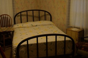 Vernon and Gladys Presley's bedroom/family room