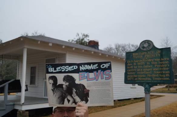 In the Blessed Name of Elvis, Shawn Poole's Elvis spectacular article, Backstreets Magazine