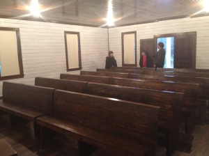 Assembly of God Church, interior view, Tupelo, Ms