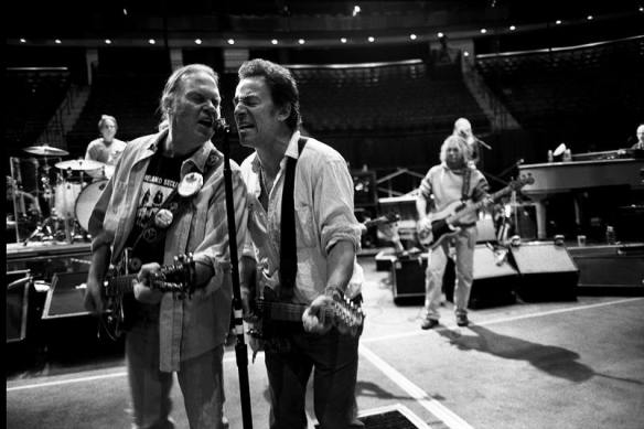 Springsteen and Neil Young