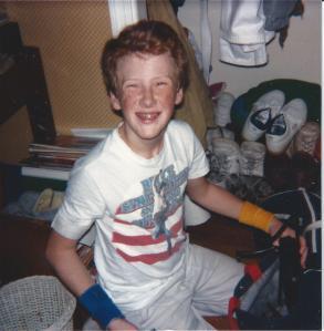 Ryan Hilligoss, bedroom at Godfrey, Il 1984