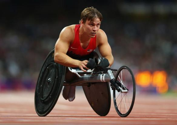 Ryan Chalmers, 2012 Paralympics, London