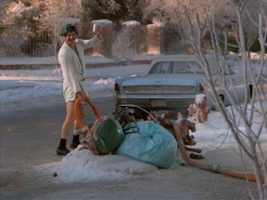 Shitter's Full!!! Cousin Eddie emptying his chemical toilet into the sewer