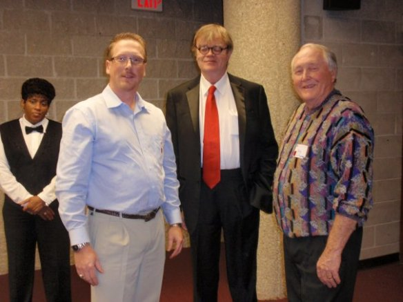 Ryan and Robert Lee Hilligoss with Garrison Keillor