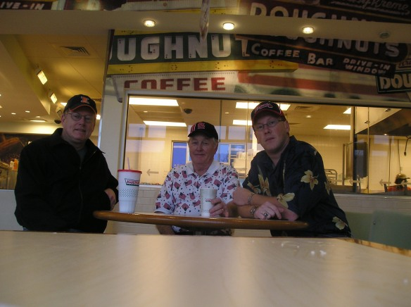 Robert Lee Hilligoss, Richard Eugene Hillligoss and Ryan Barr Hiliigoss. Krispy Kreme, Atlant, Ga 2005