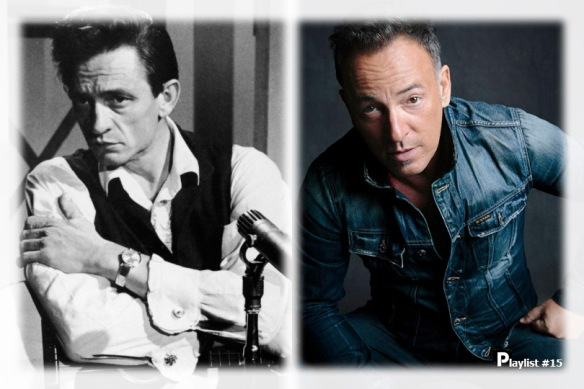 Two American Icons, Cash and Springsteen