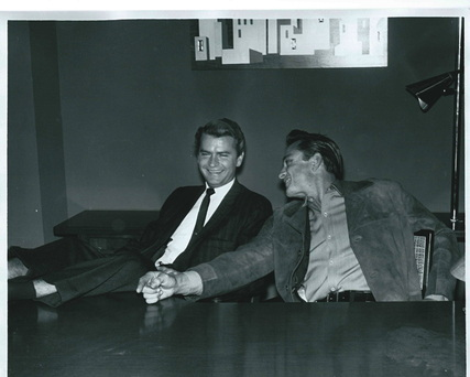 Two great American visionaries, Sam Phillips and Johnny cash
