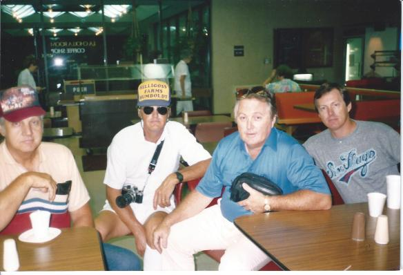 from left to right: Herman Francis, Ronald Edwin, Robert Lee and Richard Eugene Hilligoss. Phoenix, Az 1988