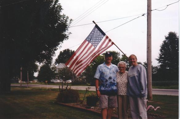 """I cannot forgot from where it is I come from, cannot forget the people who love me. ""Mary, Ryan and Kim, Edgewood, Il"