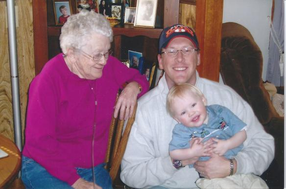 Mary, Ryan and Graham Ronald Hilligoss