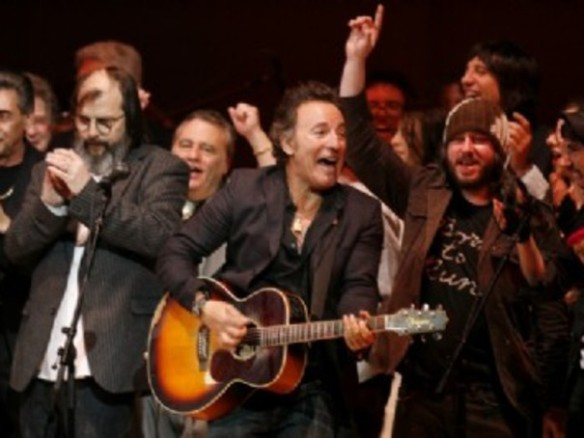 Bruce Springsteen and Steve Earle, Carnegie Hall, April 2007