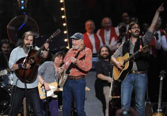Steve Earle and Pete Seeger