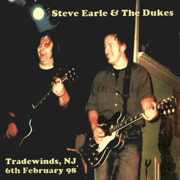 Steve Earle and Bruce Springsteen, February 6, 1998. Sea Bright, New Jersey