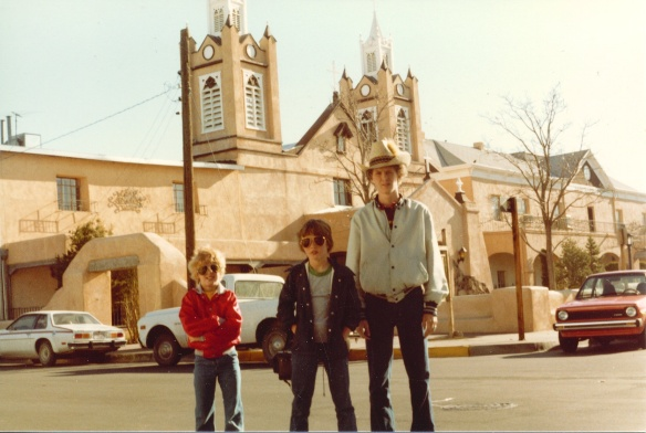 Straight out of central casting for The Newhart Show, Larry and his brother Darryl and his other brother Darryl walking the mean streets of Old Town
