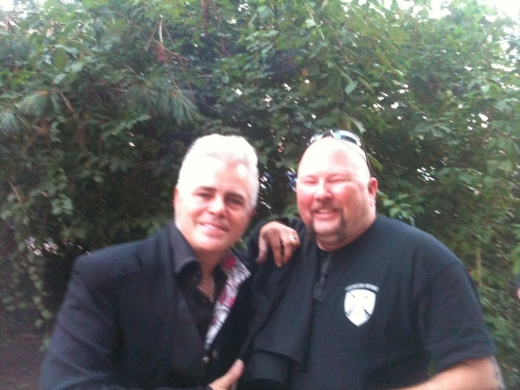 Sean with Dale Watson, his favorite country and Americana artist