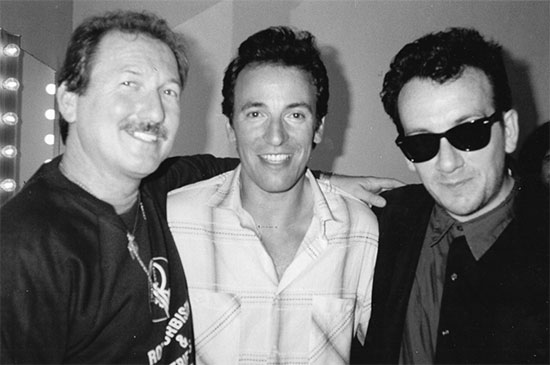 Bruce with James Burton