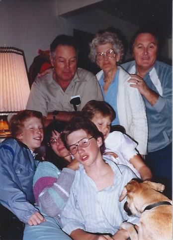 Hilligoss christmas 1985 Phoenix