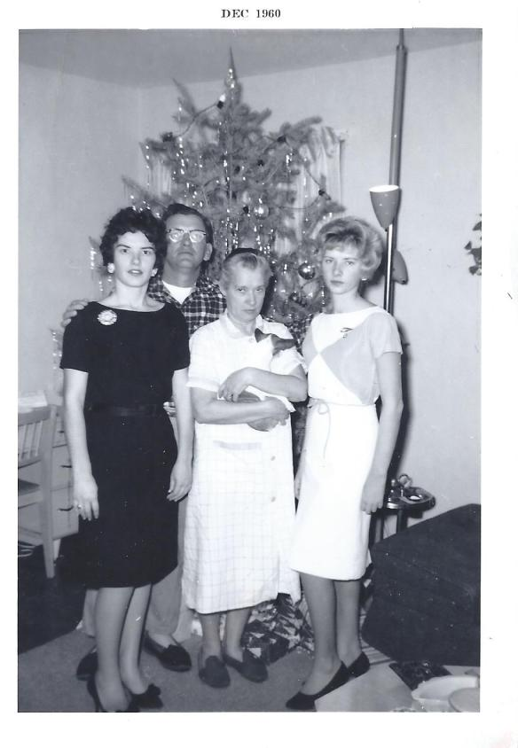 Barr Family Christmas 1960
